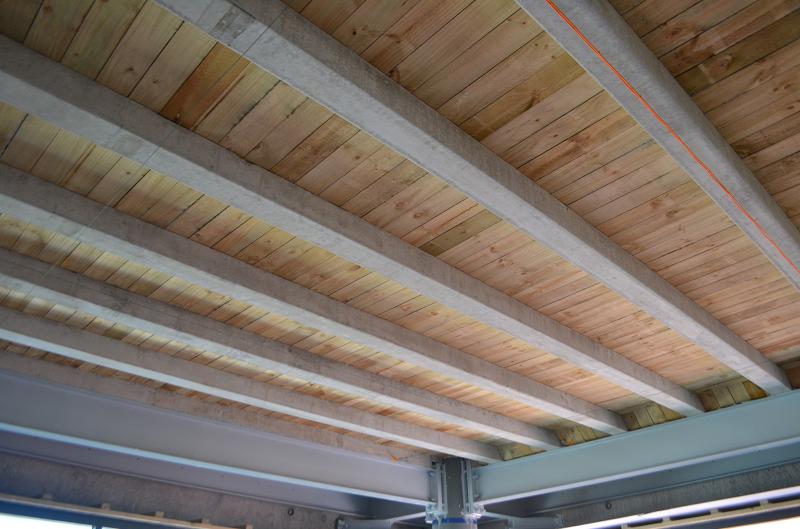 Precast Concrete Rib Amp Timber Infill Flooring Preco